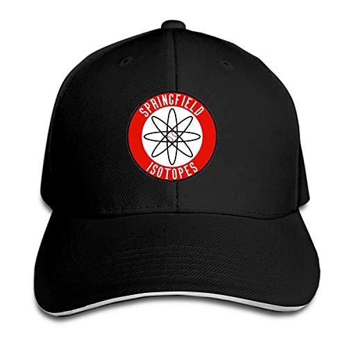 Baseball Cap Springfield Isotopes Dad Hat Peaked Flat Trucker Hats Adjustable for Men Women