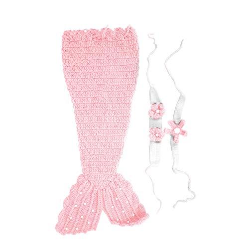 Baby Doll Clothes Saco de dormir de punto para beb de 0 a 6 meses(Pink)