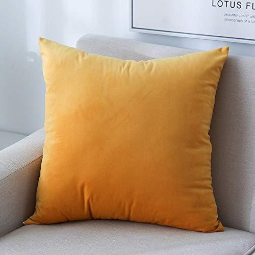 guanciali, cuscino ideale per tutti i letti, offerta, confortevole -arancia_45 * 45 cm.