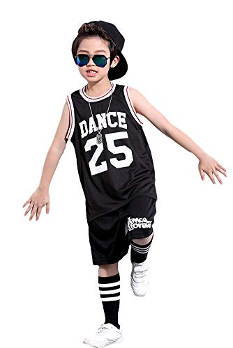 LOLANTA Jongens Hip Hop Dance Kostuum Straat Jazz Dans Set Basketbal Skateboard Kleding