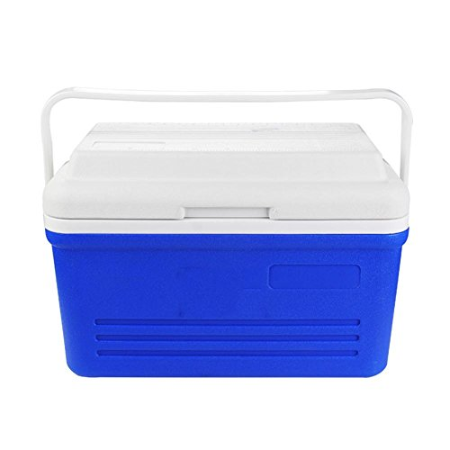 JXS koelbox, hoogwaardige Koelkast, camping, picknick, ingebouwde thermometerinitiële versie (19 liter)