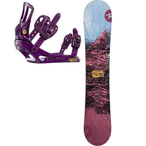 Rossignol Myth - Tabla de Snowboard para Mujer, Color Morado, Morado, 144 cm
