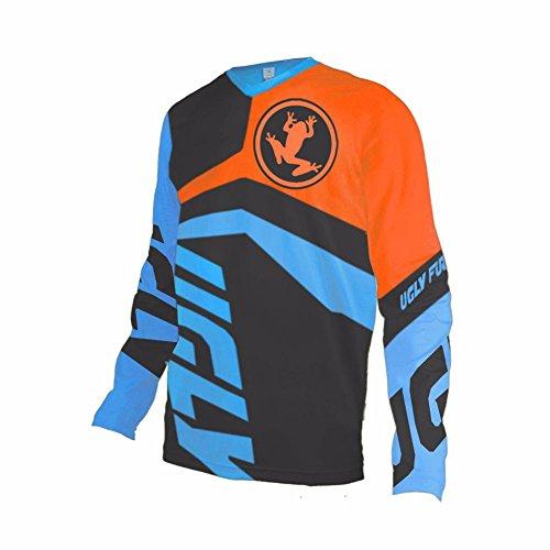 Uglyfrog Bike Wear Mens Downhill Jersey Rage MTB Cycling Top Cycle Long Sleeve Spring Mountain Bike Shirt