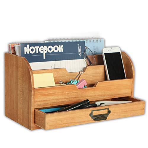 Emaison 3 Tier Country Wooden Mail Organizer