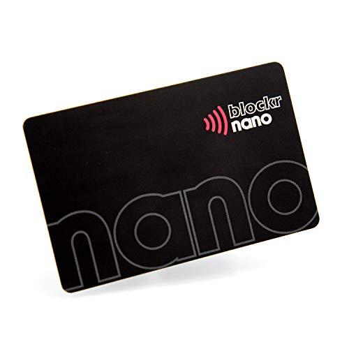 RFID Sperrkarte | Kontaktloser Kreditkartenschutz von Blockr Nano | Europa's dünnste und stärkste RFID Blocker Karte