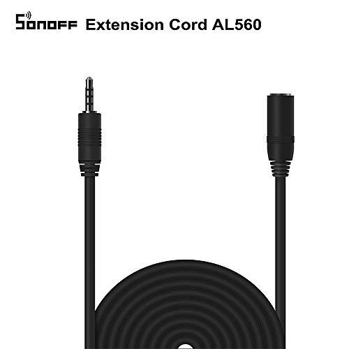 AL560 Verlängerungskabel 5M Verlängerungskabel Kompatibel mit Si7021 / AM2301 / DS18B20 Maximale Länge 60M Offizielle garantierte Genauigkeit