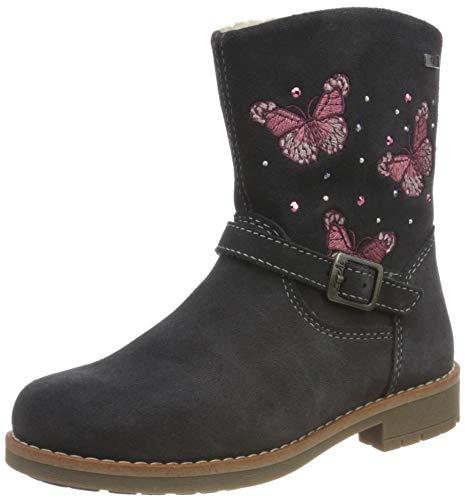Lurchi Jungen Mädchen FIBY-TEX Alltags-Stiefel, Charcoal, 26 EU