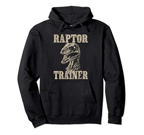 Raptor Trainer Dinosaurier-Liebhaber Halloween-Kostüm Pullover Hoodie