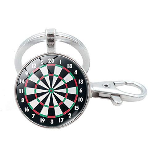 LAMEIDA Schlüsselanhänger für Männer Schlüsselanhänger Halter Darts Schlüsselanhänger für Handys Tasche Geschenk Dekoration 1 Stücke size 9.2 * 2.5cm