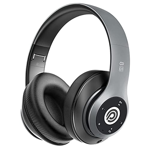 Prtukyt Wireless Headphones Over Ear, [52 Hrs Playtime] Bluetooth...