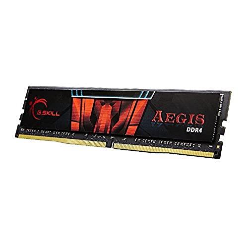 G.SKILL Aegis Mémoire RAM F4-2400C15S-8GIS 1x8 GB - Noir/Rouge