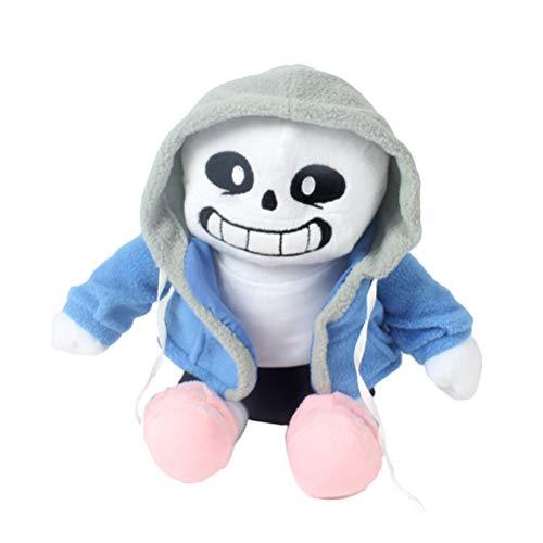 AimdonR Undertale Sans Gefüllte Plüsch Puppe Hugger Kissen Cosplay Puppe Weihnachten Brithday Geschenke für Kinder