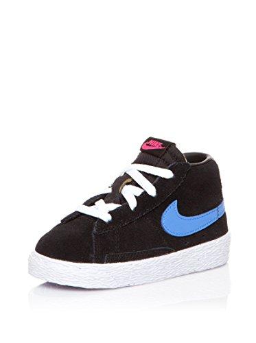 Nike Sneaker Blazer Mid Vintage Nero/Azzurro EU 25.5