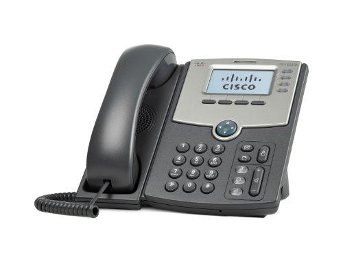 Cisco Small Business SPA 514G - Teléfono digital (VoIP, SIP, SIP v2, RTCP, RTP, SRTP, 4 líneas)