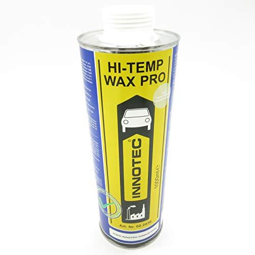 Innotec High-Temp Wax PRO in der Farbe Transparent, Rostschutz für Hohlräume, 1 Liter