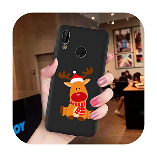 2020 Cartoon Merry caso cubierta para Huawei P40 Lite Pro P20 Lite Pro P30 Pro Lite P8 P10 Mate 30 20 10 Lite Pro-H7689Y-para P40
