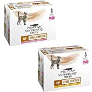 Purina Pro Plan Veterinary Diets Feline NF Renal Function 85g x 12 Chicken And 85g x 12 Salmon – 24 ...