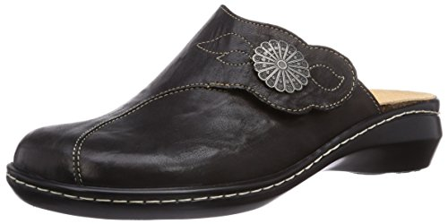 Think Damen Camilla_888431 Clogs, Schwarz (Sz/K794 02), 42 EU
