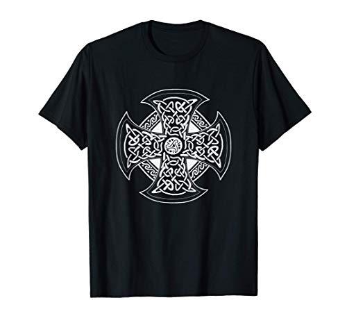 Cruz irlandesa, símbolo celta para hombre y mujer Camiseta