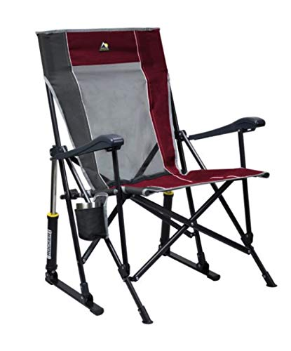 GCI Roadtrip Rocking Chair Outdoor (Cinnamon/Pewter)