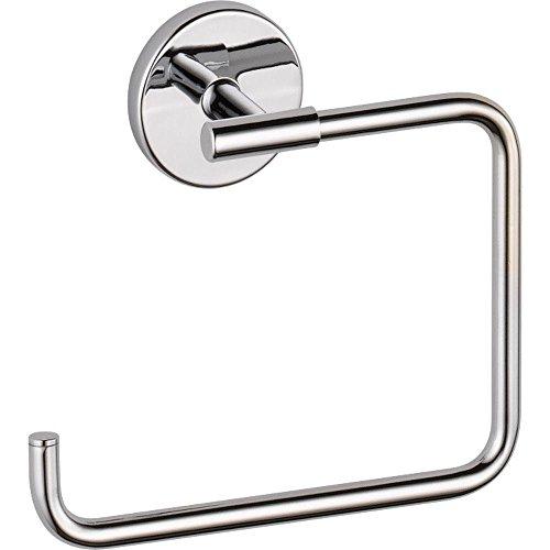 Delta Faucet Trinsic Towel Ring, Chrome, Bathroom Accessories, 759460
