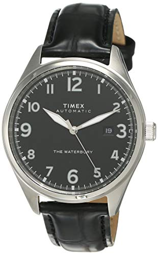 Timex Waterbury Traditional Automatic Analog Black Dial Men's Watch-TW2T69600