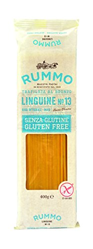 RUMMO Pâte Linguine N°13 sans Gluten 400 g