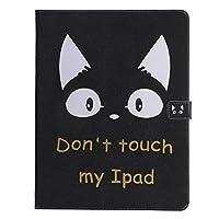 iPad Pro 12.9(2018) ケース iPad Pro 12.9(2018) カバー アイパッド プロ 12.9 カバー 可愛い 猫柄 レザーケース 多段階調整可 カード収納 スタンド機能 ポケット付き マグネット式 タブレットカバー ケース 耐衝撃 薄型 全面保護 手帳型 スマートケース【Astarz】