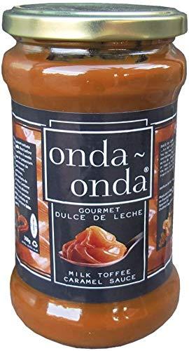 Onda Onda Gourmet Dulce De Leche - Premium-Milch-Karamell-Sauce - 350g