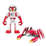 Sonic Tomy Boom 2 Figure Pack, Spacesuit Knuckles & Crabmeat Action Figure
