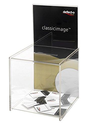Deflecto classicimage Vorschlag transparent Box W213 x D211 x H381mm