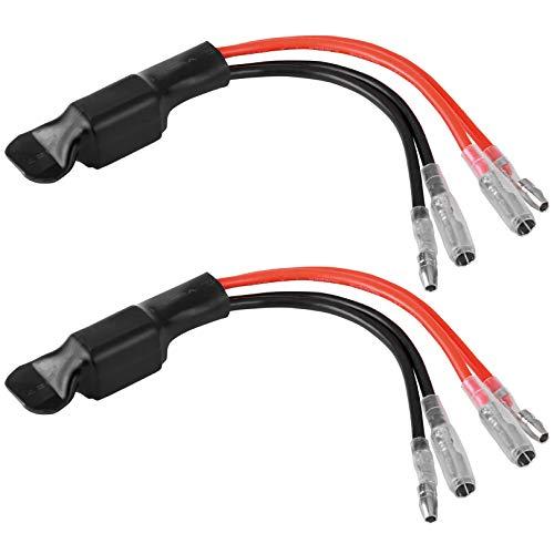 B549-1 2 Stück Premium Leistungswiderstand Lastwiderstand Widerstand für SMD LED Miniblinker Mini Blinker für richtige Blinkfrequenz 5watt 5w 29ohm 12V