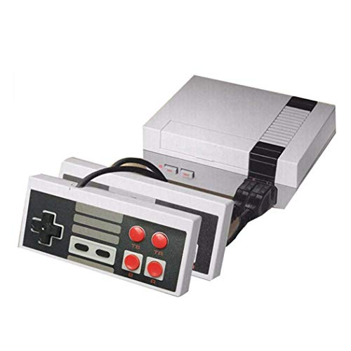 Retro Classic Mini Game Console Childhood Game Consoles Built-in 620 Game Dual Control 8-Bit Console Handheld Game Player Console for Family TV Video Bring You Happy Childhood Memories