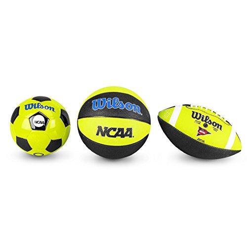 Wilson Mini Football, Basketball and Soccer Ball