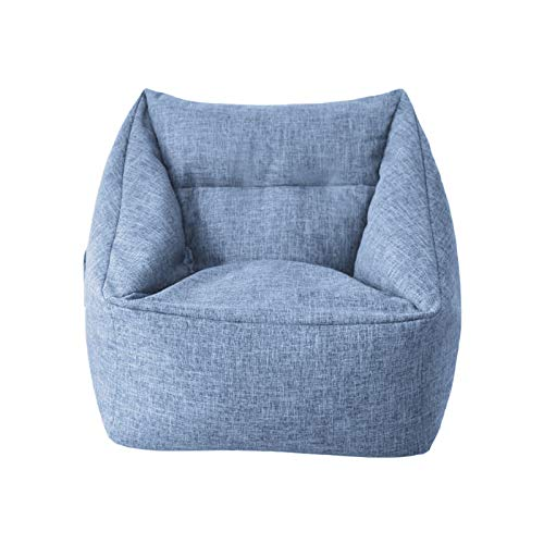 AHMI Sofa-Sitzsack Sesselbezug abnehmbar Lazy Lounger Sitzsack Aufbewahrung Weich Sofa Mantel Sofa Schonbezug für Indoor Outdoor kein Füllstoff 01