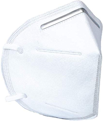 emercate KN95 - 5 Layer Face Mask (20 pcs) – Included on FDA EUA List - Filtration95% with Comfortable Elastic Ear Loop | Non-Woven Polypropylene Fabric, Protection for Essential Workers