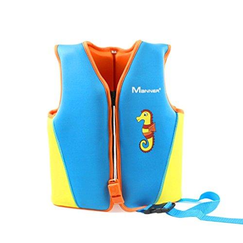 Gogokids Bojen-Badeanzug für Kinder - Baby Jungen Mädchen Schwimmjacke Neopren Bademode Schwimmende Badeanzug