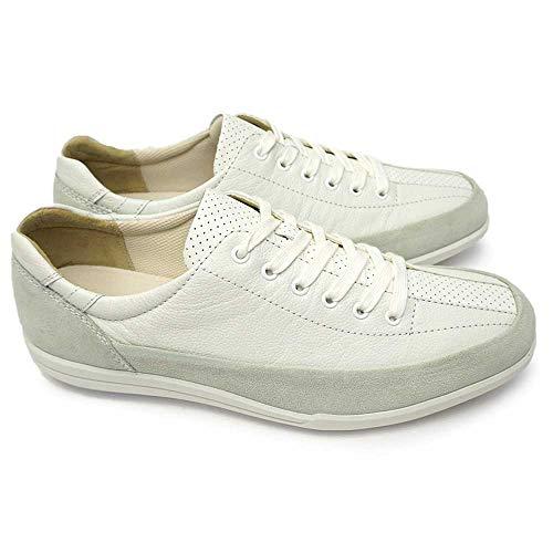 [アキレスソルボ] Achilles SORBO アキレス ソルボ 308 スニーカー レザー ウォーキングシューズ メンズ カジュアル 本革 日本製 靴 ACHILLES SORBO SRM3080 白/白 26.5cm