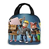 Gaming Lunch Box Large Capacity Lunch Bag for Teenager Boys Girls Outdoor