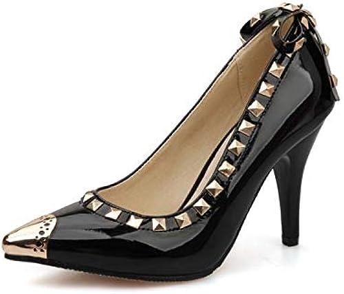 HommesGLTX Talon Aiguille Talons Hauts Sandales Chaussures Plateforme Plateforme Escarpins Chaussures à Talons Hauts Talons Pointus Toe Bal Prom Taille 34-52 C-10