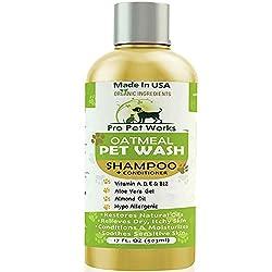 Pro Pet Works Organic Oatmeal Dog Shampoo