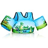 Kids Swim Vest, Jurmikey Toddler Swim Vest Jacket for 30-66 Pounds Boys & Girls, Puddle/Life Floaties for Infant from 2,3,4,5, 6, 7 Years Old, Children's Training Jumper for Beach Swimming/Pool/Sea