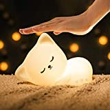 Joseky Kids Night Light- Color Changing Baby Kitty Night Light, Soft Glow Light,Best Gifts for Kids Baby Girls Boys Children Adult