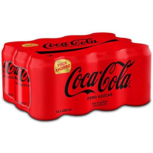 Coca-Cola Zero Azúcar - Refresco de cola sin azúcar, sin c