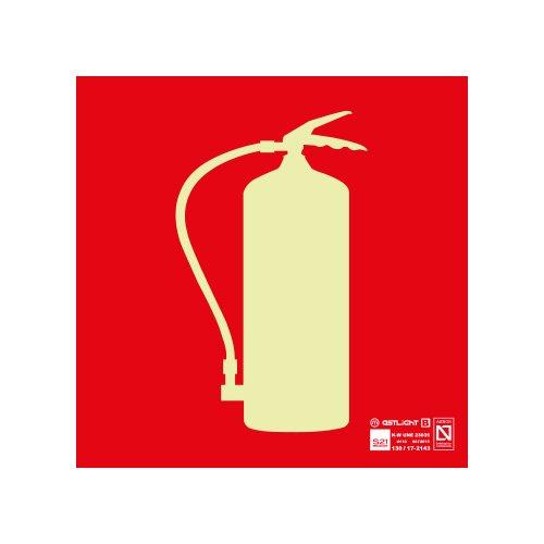 Astlight INC4015.GFI Señal de extintor fotoluminiscente, Multicolor
