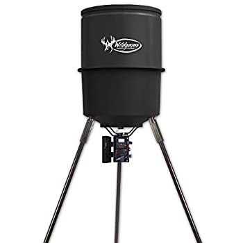 Wildgame Innovations W270D Tri-Pod Deer Feeder easy to use feeder with 4 feed times