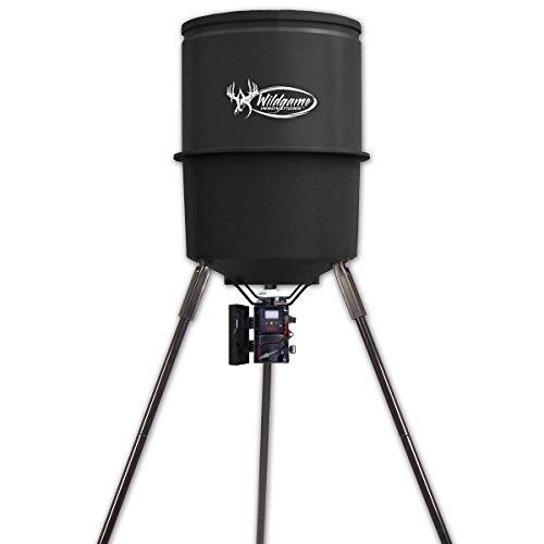 Wildgame Innovations W270D Tri-Pod Deer Feeder, easy to use feeder with 4 feed times