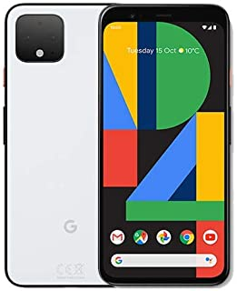 """Pixel 4 XL 6.3"""" 128GB Clearly White"""