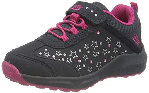 Lico Mädchen Starlight VS Sneaker, Blau (Marine/ Pink), 25 EU
