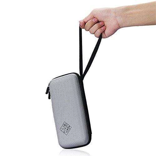 Eyglo Hard Case for Texas Instruments TI-84 Plus CE TI-83 Plus TI-89 Titanium HP 50G Graphing Calculators Storage Travel Pouch Box (Gray) Photo #2